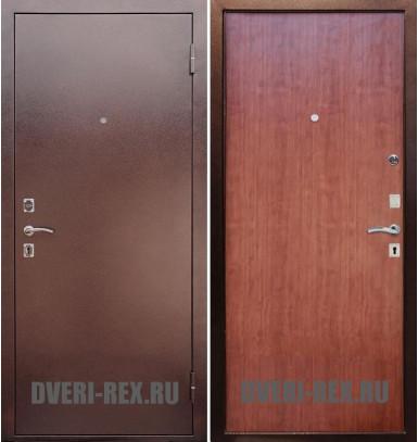 Стальная дверь Рекс Эконом (Итальянский орех)