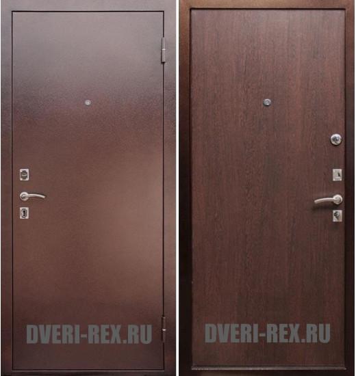 Стальная дверь Рекс Эконом (Венге)