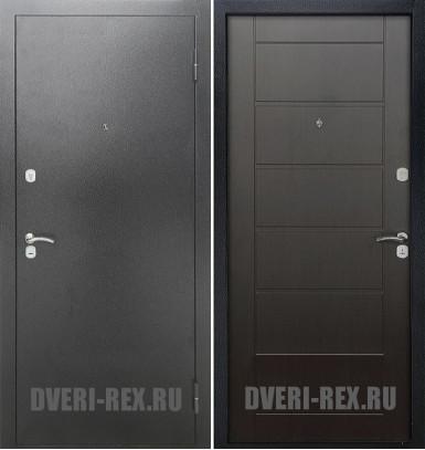 Стальная дверь Рекс Сити (Венге)