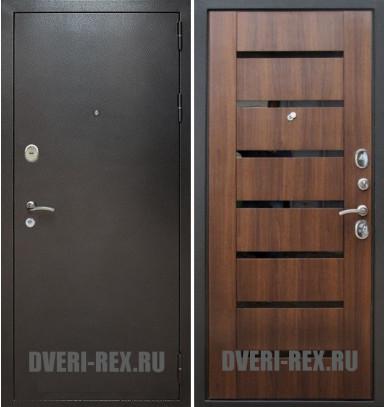 Стальная дверь Рекс Титан / СБ-14 (Орех бренди)