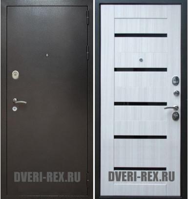 Стальная дверь Рекс Титан / СБ-14 (Сандал белый)