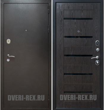 Стальная дверь Рекс Титан / СБ-14 (Венге тангент)