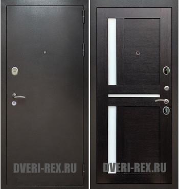 Стальная дверь Рекс Титан / СБ-18 (Венге)