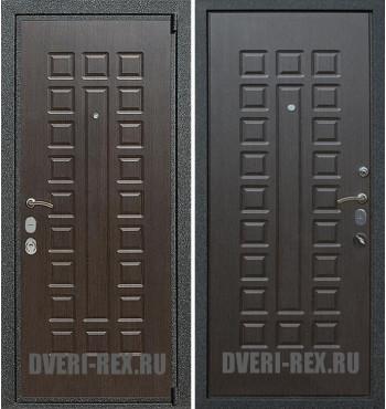 Стальная дверь Рекс 4А Mottura / ФЛ-183 (Венге)