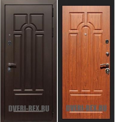 Стальная дверь Рекс Эврика ФЛ-58 (Орех)