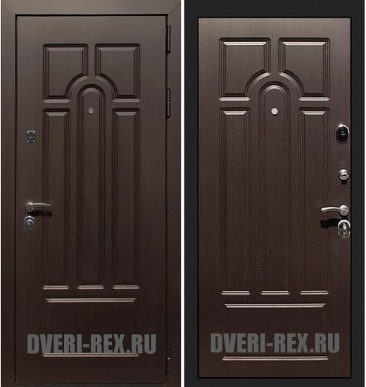 Стальная дверь Рекс Эврика ФЛ-58 (Венге)