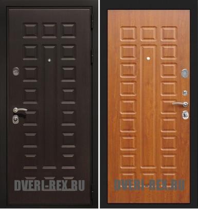 Стальная дверь Рекс Премиум 3К ФЛ-183 (Орех)