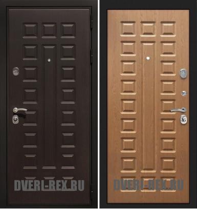 Стальная дверь Рекс Премиум 3К ФЛ-183 (Дуб натуральный)