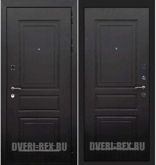 Стальная дверь Рекс 6 Лондон (Венге)