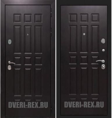 Стальная дверь Рекс Сенатор 2К ФЛ-33 (Венге)