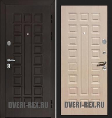 Стальная дверь Рекс Сенатор Люкс ФЛ-183 (Беленый дуб)
