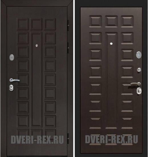 Стальная дверь Рекс Сенатор Люкс ФЛ-183 (Венге)