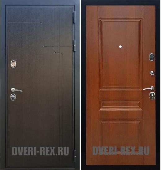 Стальная дверь Рекс Премиум 246 / ФЛ-243 (Орех)