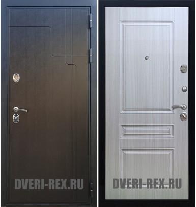 Стальная дверь Рекс Премиум 246 / ФЛ-243 (Сандал белый)