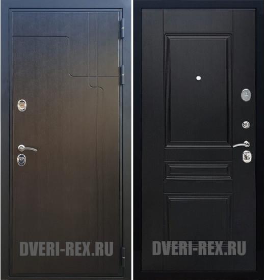 Стальная дверь Рекс Премиум 246 / ФЛ-243 (Венге)