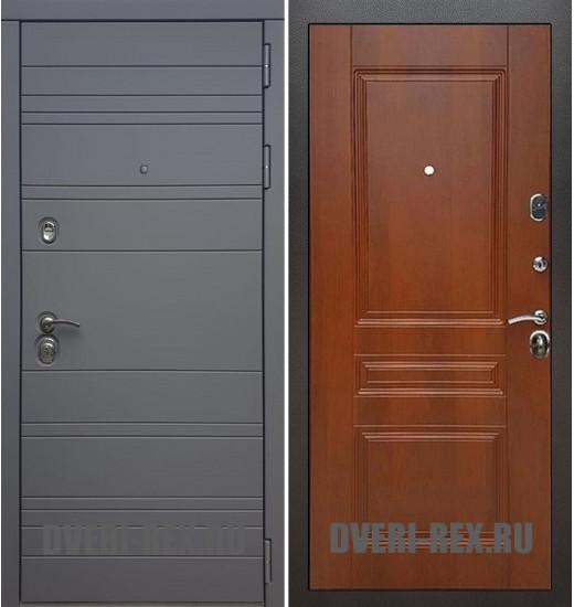 Стальная дверь Рекс 14 / ФЛ-243 (Орех)