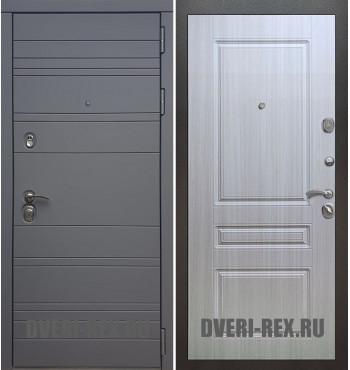 Стальная дверь Рекс 14 / ФЛ-243 (Сандал белый)