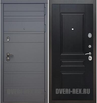 Стальная дверь Рекс 14 / ФЛ-243 (Венге)
