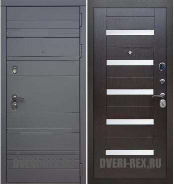 Стальная дверь Рекс 14 / СБ-14 (Венге)
