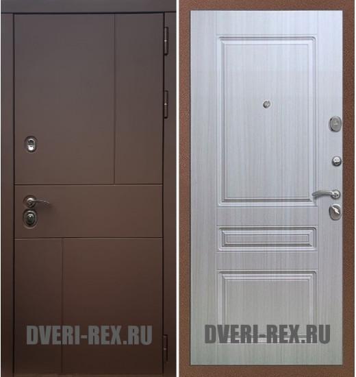 Стальная дверь Рекс Урбан / ФЛ-243 (Сандал белый)