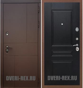 Стальная дверь Рекс Урбан / ФЛ-243 (Венге)
