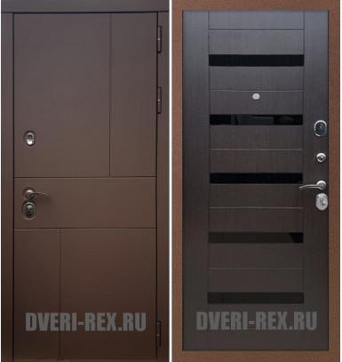 Стальная дверь Рекс Урбан / СБ-14 (Венге)