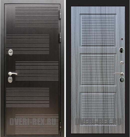 Стальная дверь Рекс Премиум 185 / ФЛ-1 (Сандал серый)