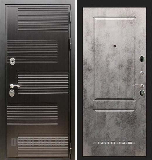 Стальная дверь Рекс Премиум 185 / ФЛ-117 (Бетон светлый)