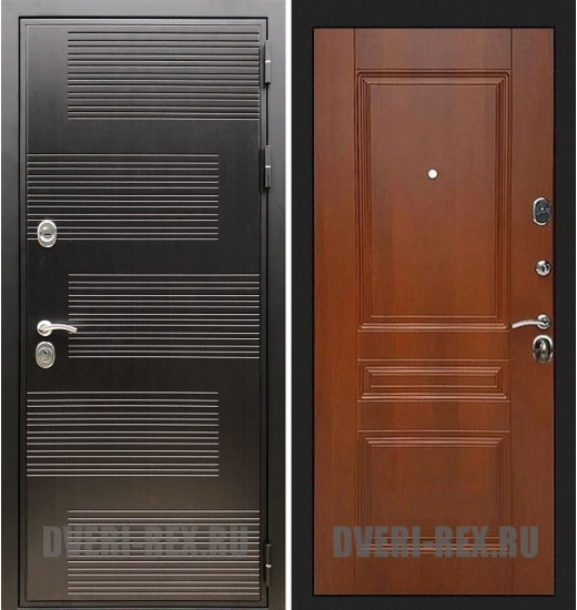 Стальная дверь Рекс Премиум 185 / ФЛ-243 (Орех)