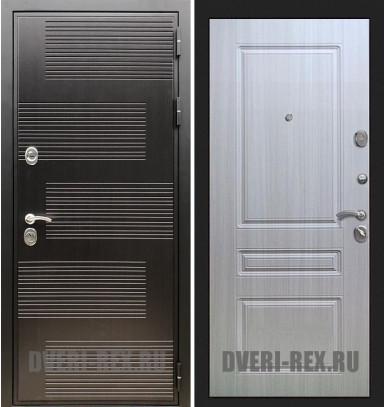 Стальная дверь Рекс Премиум 185 / ФЛ-243 (Сандал белый)