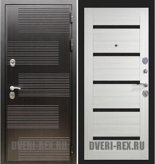 Стальная дверь Рекс Премиум 185 / СБ-14 (Лиственница беж)