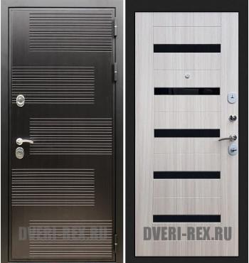 Стальная дверь Рекс Премиум 185 / СБ-14 (Сандал белый)