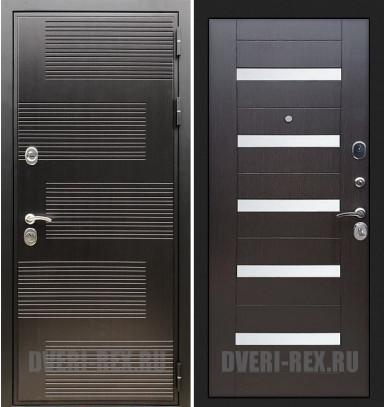 Стальная дверь Рекс Премиум 185 / СБ-14 (Венге)