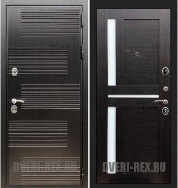 Стальная дверь Рекс Премиум 185 / СБ-18 (Венге)