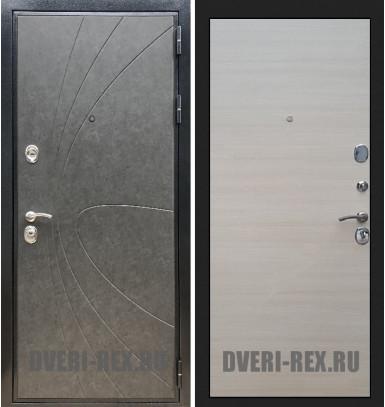 Стальная дверь Рекс Премиум 248 / (Акация светлая)