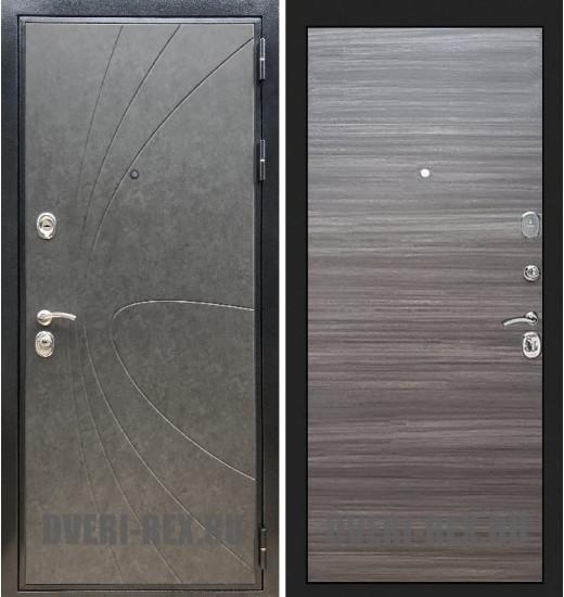Стальная дверь Рекс Премиум 248 / (Сандал серый)