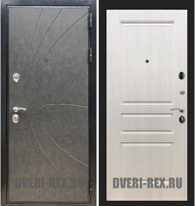 Стальная дверь Рекс Премиум 248 / ФЛ-243 (Лиственница беж)