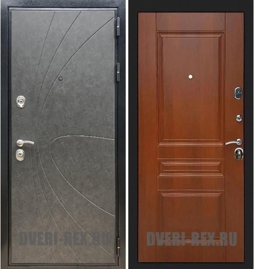 Стальная дверь Рекс Премиум 248 / ФЛ-243 (Орех)