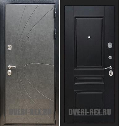 Стальная дверь Рекс Премиум 248 / ФЛ-243 (Венге)