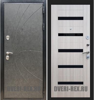 Стальная дверь Рекс Премиум 248 / СБ-14 (Сандал белый)