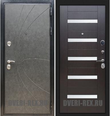 Стальная дверь Рекс Премиум 248 / СБ-14 (Венге)
