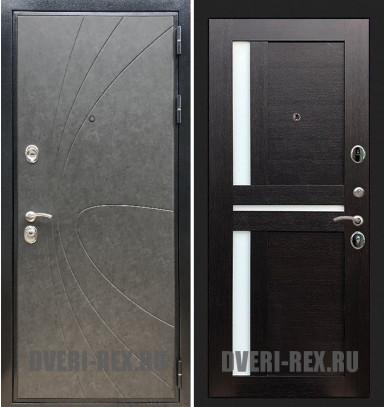 Стальная дверь Рекс Премиум 248 / СБ-18 (Венге)