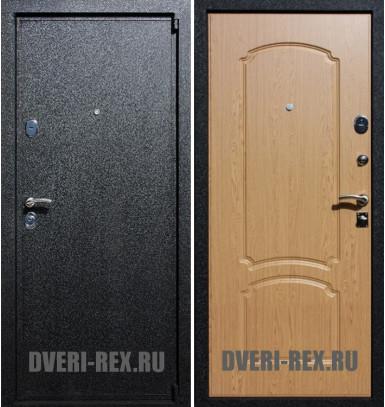 Стальная дверь Рекс 3 / ФЛ-132 (Дуб натуральный)