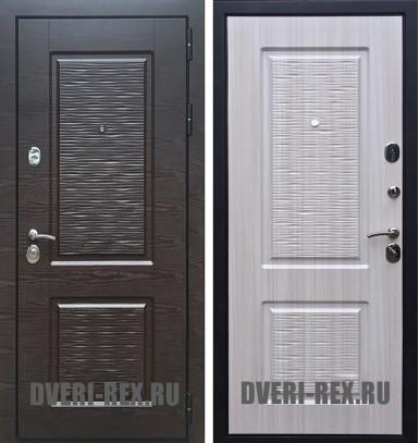 Стальная дверь Рекс Лайн (Сандал белый)