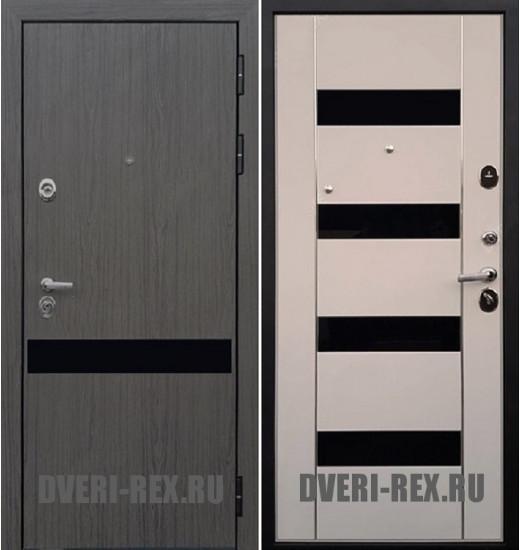 Стальная дверь Рекс Премьер Z-1 (Беленый дуб)