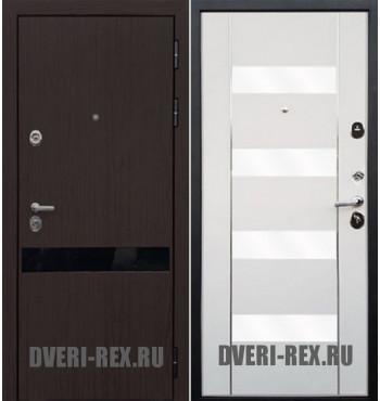 Стальная дверь Рекс Премьер Z-2 (White белая)