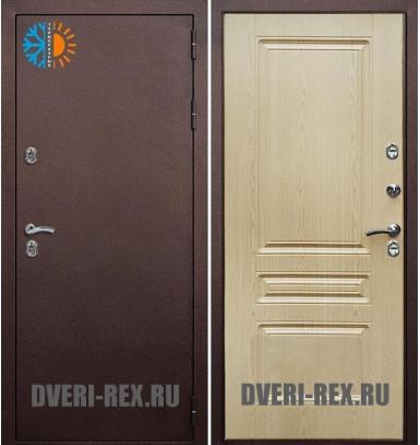 Стальная дверь Рекс с терморазрывом (Алмон 25)