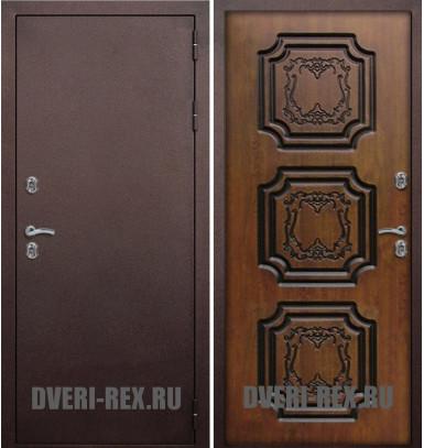 Стальная дверь Рекс с терморазрывом (Золотой дуб)