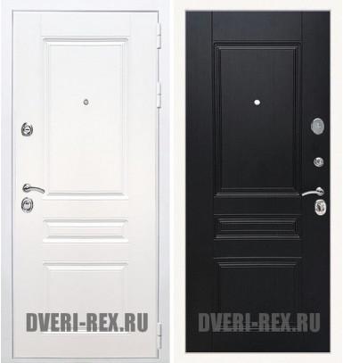 Стальная дверь Рекс Премиум H (Силк сноу) / ФЛ-243 (Венге)